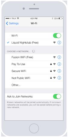 Free Social WiFi Step One