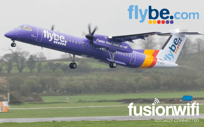 Fusion WiFi Team Up with Flybe to provide Free WiFi  during Bournemouth Air Festival 2015