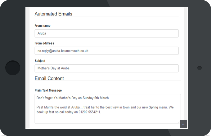 Social WiFi Automated Emails