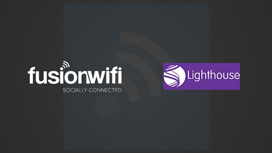 Fusion WiFi Team Up with Lighthouse Poole